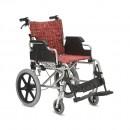 Облегченная каталка повышенной комфортности с большими пневматическими задними колесами
